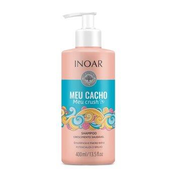 Šampūnas garbanotiems plaukams INOAR Meu Cacho Meu Crush Shampoo 400 ml kaina ir informacija | Šampūnai | pigu.lt