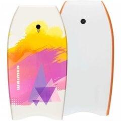 Plaukimo lenta Waimea 52WY, 93 cm, balta/oranžinė/rožinė kaina ir informacija | Plaukimo lentos, plūdurai | pigu.lt