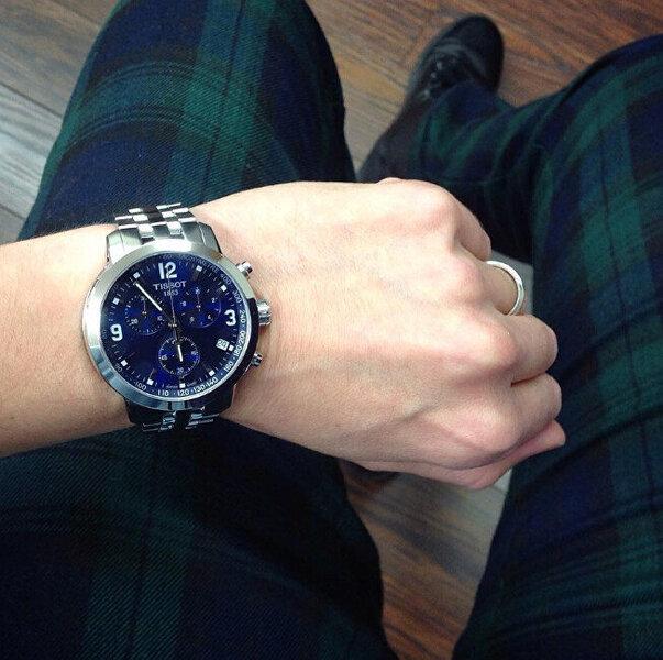 Vyriškas laikrodis Tissot PRC200 T055.417.11.047.00 kaina