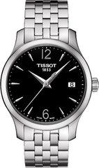 Moteriškas laikrodis Tissot T-Tradition Lady T063.210.11.057.00 kaina ir informacija | Moteriški laikrodžiai | pigu.lt