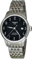 Le Locle Powermatic 80 T006.407.11.052.00 цена и информация | Мужские часы | pigu.lt
