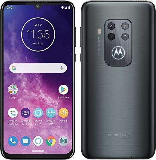 Motorola One Zoom, 128GB, Dual SIM, Electric Grey