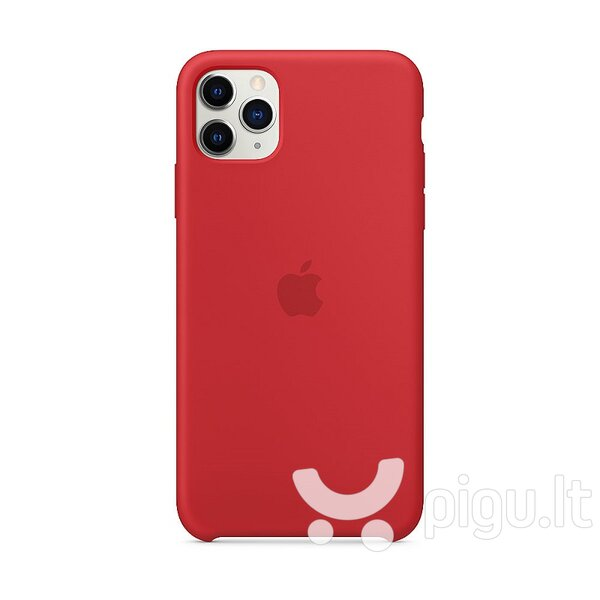 Apple iPhone 11 Pro Max Silicone Cover (PRODUCT)RED