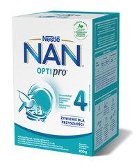 Молочная смесь с двухлетнего возраста Nestle NAN OPTIPRO 4, 800 г цена и информация | Последующие детские смеси | pigu.lt