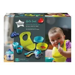 Tommee Tippee maitinimo rinkinys hello food kaina ir informacija | Buteliukai kūdikiams ir jų priedai | pigu.lt