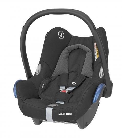 Automobilinė kėdutė Maxi Cosi CabrioFix, 0-13 kg, Essential Black kaina ir informacija | Autokėdutės | pigu.lt
