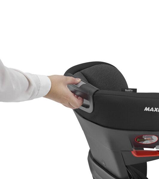 Maxi Cosi automobilinė kėdutė RodiFix AirProtect, 15-36 kg, Authentic black atsiliepimas