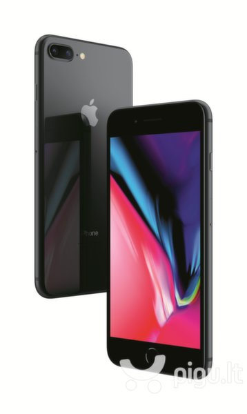 Apple iPhone 8 Plus 128GB, Space Gray kaina