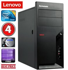 Lenovo M58e MT E7500 4GB 500GB Win10Pro kaina ir informacija | Stacionarūs kompiuteriai | pigu.lt
