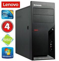 Lenovo M58e MT E7500 4GB 120SSD Win7Pro kaina ir informacija | Lenovo M58e MT E7500 4GB 120SSD Win7Pro | pigu.lt