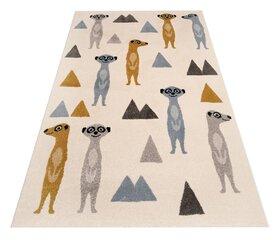 Vaikiškas kilimas Happy Meerkats 120x170 cm kaina ir informacija | Kilimai | pigu.lt