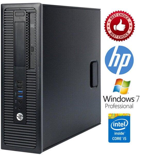 HP ProDesk 400 G1 i5-4570 4GB 128SSD Windows 7 Professional kaina ir informacija | Stacionarūs kompiuteriai | pigu.lt