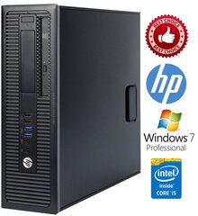 HP ProDesk 600 G1 i3-4130 8GB 480SSD Windows 7 Professional kaina ir informacija | HP ProDesk 600 G1 i3-4130 8GB 480SSD Windows 7 Professional | pigu.lt