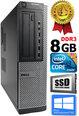 DELL Optiplex 7010 Core i3-3220 3.30GHZ 8GB 480GB SSD DVD Windows 10 Professional