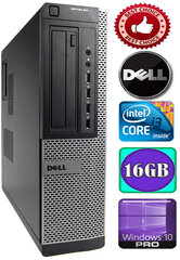 DELL Optiplex 7010 Core i3-3220 3.30GHZ 16GB 1TB DVD Windows 10 Professional kaina ir informacija | DELL Optiplex 7010 Core i3-3220 3.30GHZ 16GB 1TB DVD Windows 10 Professional | pigu.lt