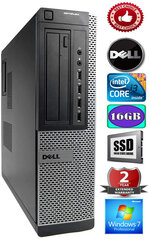 DELL Optiplex 7010 Core i3-3220 3.30GHZ 16GB 480GB SSD GT1030 2gb DVD Windows 7 Professional kaina ir informacija | DELL Optiplex 7010 Core i3-3220 3.30GHZ 16GB 480GB SSD GT1030 2gb DVD Windows 7 Professional | pigu.lt