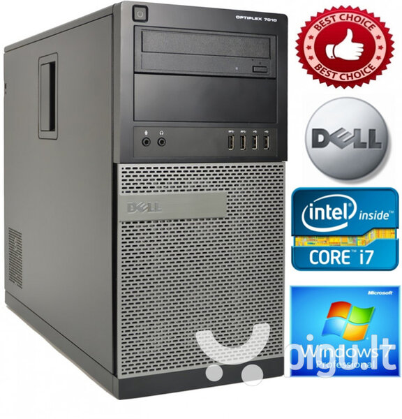DELL Optiplex 3010 Core i7-3770 4GB 1TB HDD DVDRW Windows 7 Professional