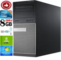 Dell Optiplex Mini Tower 9020 i3-4130 8GB 240GB SSD 1TB HDD GT1030 2GB Windows 7 Professional kaina ir informacija | Dell Optiplex Mini Tower 9020 i3-4130 8GB 240GB SSD 1TB HDD GT1030 2GB Windows 7 Professional | pigu.lt