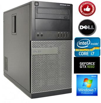 Dell Optiplex 7010 Intel Core i7-3770 16GB 1TB HDD GTX1650 4GB Windows 7 Professional kaina ir informacija | Stacionarūs kompiuteriai | pigu.lt