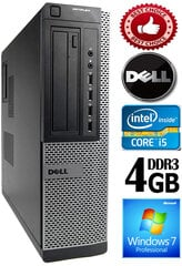 DELL Optiplex 7010 Core i5-3470 4GB 320GB DVD Windows 7 Professional kaina ir informacija | DELL Optiplex 7010 Core i5-3470 4GB 320GB DVD Windows 7 Professional | pigu.lt