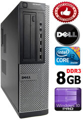 DELL Optiplex 7010 Core i5-3470 8GB 320GB DVD Windows 10 Professional kaina ir informacija | DELL Optiplex 7010 Core i5-3470 8GB 320GB DVD Windows 10 Professional | pigu.lt