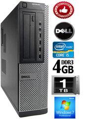 DELL Optiplex 7010 Core i5-3470 4GB 1TB DVD Windows 10 Professional kaina ir informacija | DELL Optiplex 7010 Core i5-3470 4GB 1TB DVD Windows 10 Professional | pigu.lt