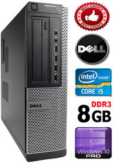 DELL Optiplex 7010 Core i5-3470 8GB 500GB DVD Windows 10 Professional kaina ir informacija | DELL Optiplex 7010 Core i5-3470 8GB 500GB DVD Windows 10 Professional | pigu.lt