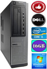 DELL Optiplex 7010 Core i5-3470 16GB 320GB DVD Windows 7 Professional kaina ir informacija | DELL Optiplex 7010 Core i5-3470 16GB 320GB DVD Windows 7 Professional | pigu.lt