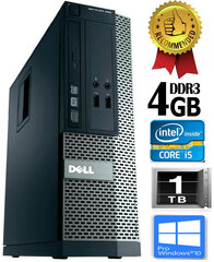Dell Optiplex 390 i5-2400 4GB 1TB DVDRW Windows 10 Professional kaina ir informacija | Dell Optiplex 390 i5-2400 4GB 1TB DVDRW Windows 10 Professional | pigu.lt