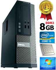 Dell Optiplex 390 i5-2400 8GB 120GB SSD DVDRW Windows 7 Professional kaina ir informacija | Dell Optiplex 390 i5-2400 8GB 120GB SSD DVDRW Windows 7 Professional | pigu.lt