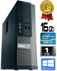 Dell Optiplex 390 i5-2400 16GB 1TB DVDRW Windows 10 Professional kaina ir informacija | Dell Optiplex 390 i5-2400 16GB 1TB DVDRW Windows 10 Professional | pigu.lt