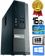 Dell Optiplex 390 i5-2400 16GB 480GB SSD DVDRW Windows 10 Professional kaina ir informacija | Dell Optiplex 390 i5-2400 16GB 480GB SSD DVDRW Windows 10 Professional | pigu.lt