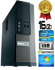 Dell Optiplex 390 i5-2400 16GB 480GB SSD GT710 2gb DVDRW Windows 7 Professional kaina ir informacija | Dell Optiplex 390 i5-2400 16GB 480GB SSD GT710 2gb DVDRW Windows 7 Professional | pigu.lt