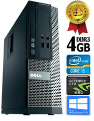Dell Optiplex 390 i5-2400 4GB 1TB GTX1650 4GB DVDRW Windows 10 Professional kaina ir informacija | Dell Optiplex 390 i5-2400 4GB 1TB GTX1650 4GB DVDRW Windows 10 Professional | pigu.lt