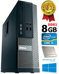 Dell Optiplex 390 i5-2400 8GB 120GB SSD DVDRW Windows 10 kaina ir informacija | Dell Optiplex 390 i5-2400 8GB 120GB SSD DVDRW Windows 10 | pigu.lt