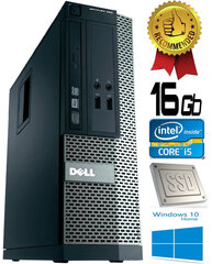 Dell Optiplex 390 i5-2400 16GB 120GB SSD DVDRW Windows 10 kaina ir informacija | Dell Optiplex 390 i5-2400 16GB 120GB SSD DVDRW Windows 10 | pigu.lt