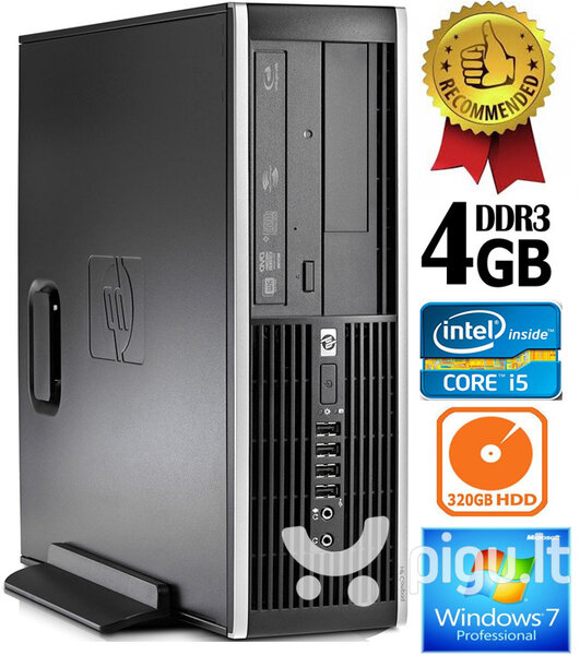 HP Compaq Elite 8100 Intel® Core™ i5-650 4GB 320GB Windows 7 Professional