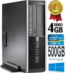 HP Compaq Elite 8100 Intel® Core™ i5-650 4GB 500GB Windows 10 kaina ir informacija | HP Compaq Elite 8100 Intel® Core™ i5-650 4GB 500GB Windows 10 | pigu.lt