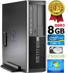HP Compaq Elite 8100 Intel® Core™ i5-650 8GB 250GB Windows 7 Professional kaina ir informacija | HP Compaq Elite 8100 Intel® Core™ i5-650 8GB 250GB Windows 7 Professional | pigu.lt
