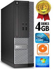 Dell Optiplex 7020 i3-4130 3.4Ghz 4GB 500GB HDD Windows 7 Professional kaina ir informacija | Stacionarūs kompiuteriai | pigu.lt
