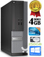 Dell Optiplex 7020 i3-4130 3.4Ghz 4GB 250GB HDD Windows 10 Professional