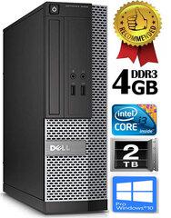 Dell Optiplex 7020 i3-4130 3.4Ghz 4GB 2TB HDD Windows 10 Professional kaina ir informacija | Dell Optiplex 7020 i3-4130 3.4Ghz 4GB 2TB HDD Windows 10 Professional | pigu.lt
