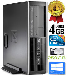 HP Compaq Elite 8200 Intel® Core™ i3-2100 4GB 250GB Windows 10 Professional kaina ir informacija | HP Compaq Elite 8200 Intel® Core™ i3-2100 4GB 250GB Windows 10 Professional | pigu.lt