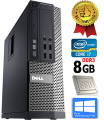 Dell Optiplex 790 i7-2600 8GB 960GB SSD Windows 10 Professional kaina ir informacija | Stacionarūs kompiuteriai | pigu.lt