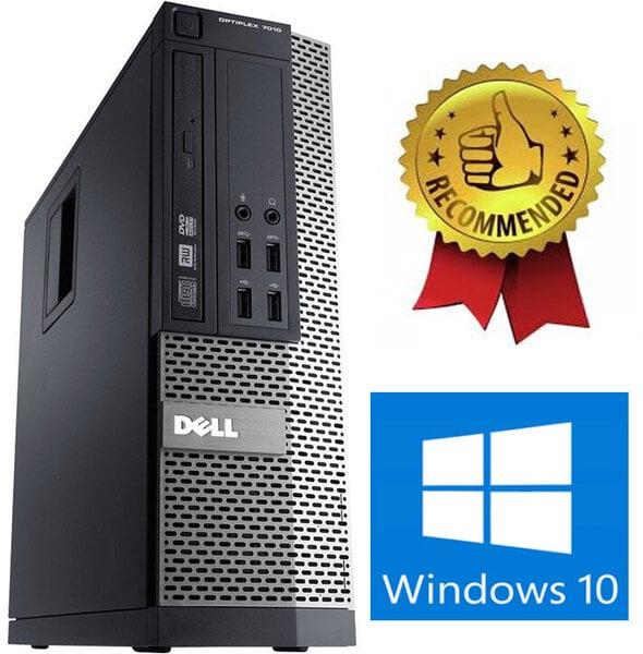 Dell Optiplex 790 i7-2600 6GB 120GB SSD Windows 10 kaina ir informacija | Stacionarūs kompiuteriai | pigu.lt