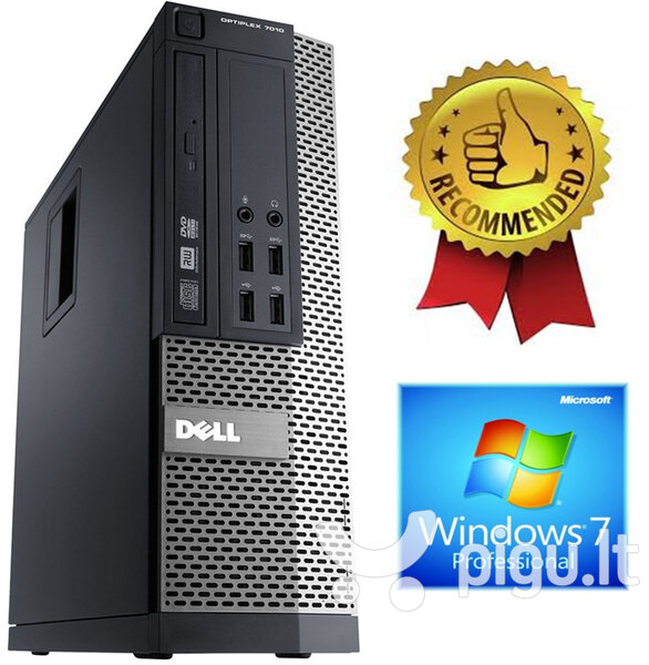 Dell Optiplex 7010 i5-3470 12GB 480GB SSD Windows 7 Professional