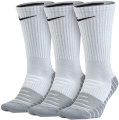 Kojinės Nike U NK Evry Max Cush Crew 3PR kaina ir informacija | Vyriškos kojinės | pigu.lt