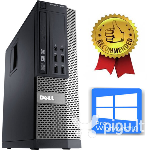 Dell Optiplex 790 SFF i5-2400 4GB 250GB Windows 10 Professional
