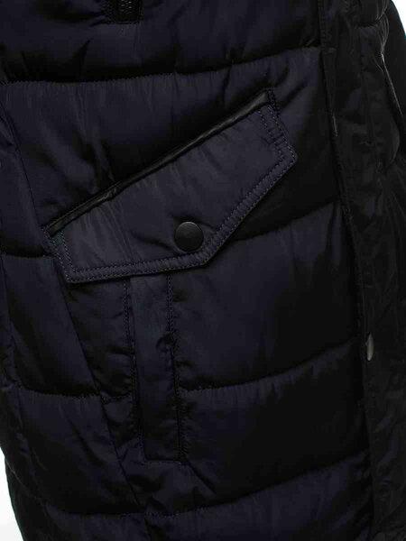 """Vyriška tamsiai mėlyna žieminė striukė su kailiniu gobtuvu """"Mizor"""" atsiliepimas"""