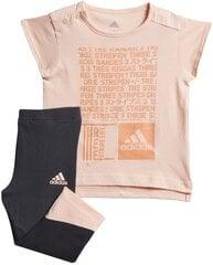 Sportinis kostiumėlis mergaitėms Adidas I MM Tight Set kaina ir informacija | Komplektai mergaitėms | pigu.lt